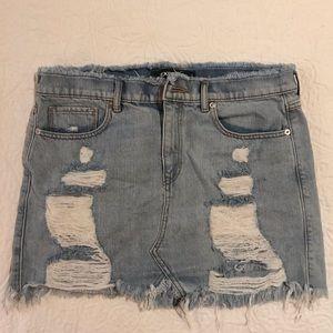 Express Jean Skirt size 10